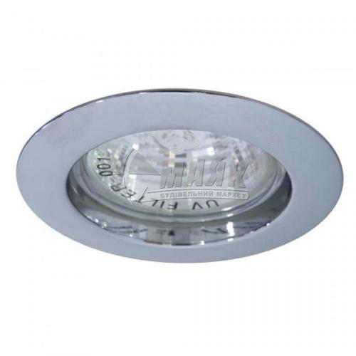 Світильник точковий вбудований Feron DL307 МR16 GU5.3/G5.3 хром
