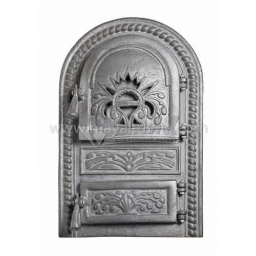 Дверцята спарені декоративні Арка Чаша 340×550 мм 16,4 кг