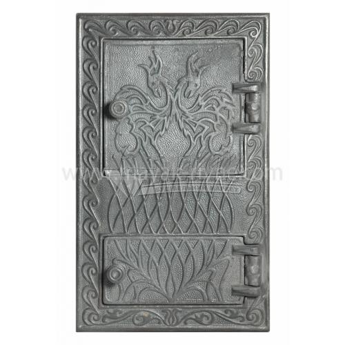 Дверцята спарені декоративні Дракон 340×550 мм 15,7 кг