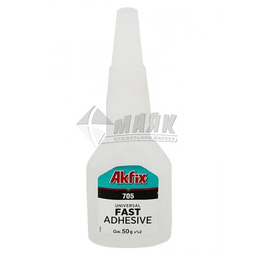 Клей універсальний Akfix 705 гель 50 г