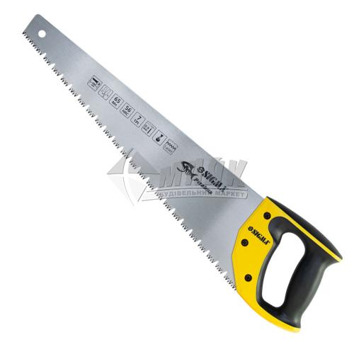 Ножівка по мокрому дереву SIGMA Piranha 7TPI 400 мм пластикова ручка