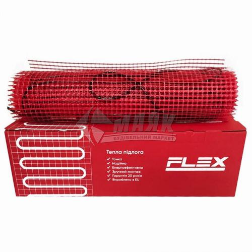 Мат нагрівальний для теплої підлоги двожильний FLEX Heating EHM-175 0,175кВт 1 кв.м