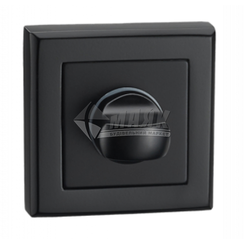 Фіксатор квадратний MVM WC T7а BLACK чорний