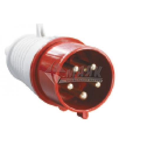 Вилка силова переносна IEK 025 3Р+Е+N 32А 380В IP44