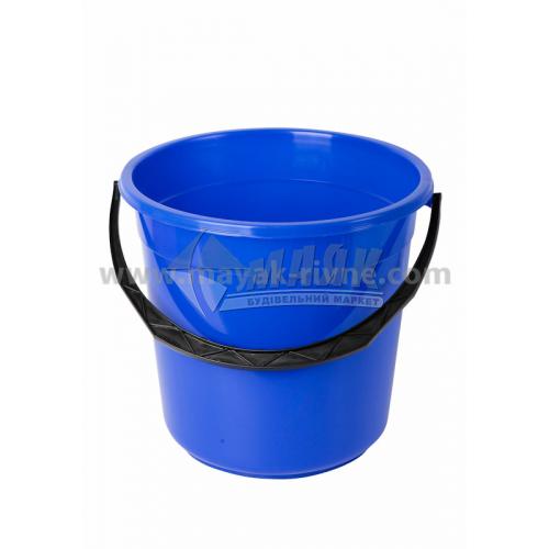 Відро пластикове господарське кругле 15 л в асортименті