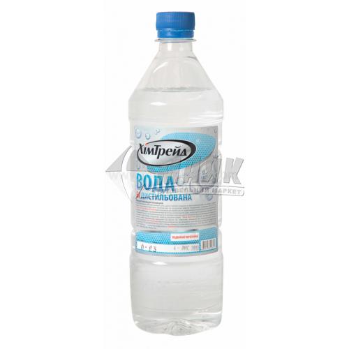Вода дистильована ХімТрейд 0,85 кг
