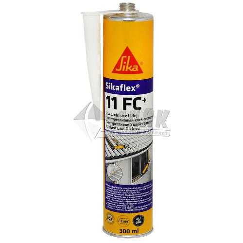 Клей-герметик поліуретановий Sikaflex 11 FC 300 мл білий