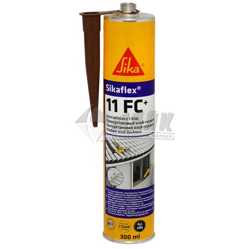 Клей-герметик поліуретановий Sikaflex 11 FC 300 мл коричневий