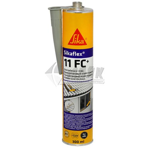 Клей-герметик поліуретановий Sikaflex 11 FC 300 мл бетонно-сірий