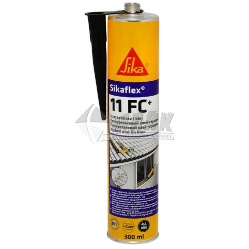 Клей-герметик поліуретановий Sikaflex 11 FC 300 мл чорний