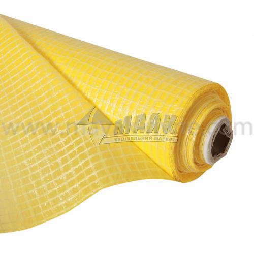 Гідробар'єр армований 75 г/кв.м 1,5 м 50 пог.м (75 кв.м) жовтий