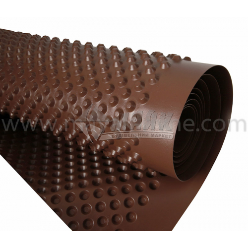 Гідроізоляція для фундаментів Terraplast Plus L8 400 г/кв.м 2 м 20 пог.м (40 кв.м)