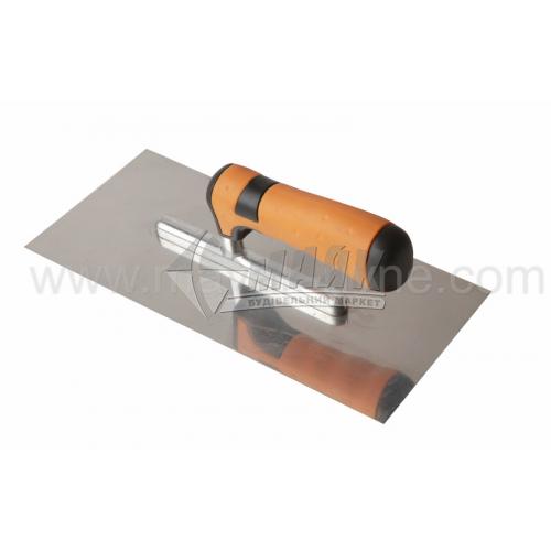 Гладилка гладка 120×280 мм нержавіюча сталь ергономічна ручка