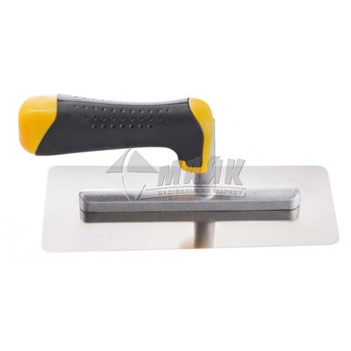 Гладилка гладка HARDY Stucco 90×200 мм нержавіюча сталь пластикова ручка