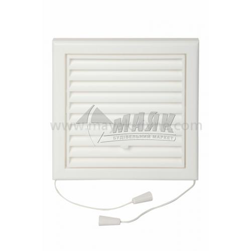 Решітка вентиляційна квадратна VENTS МВ 100 Рс регульована 154×154 мм