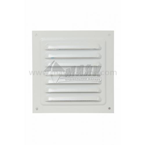 Решітка вентиляційна металева квадратна VENTS МВМ 125 С 125×125 мм