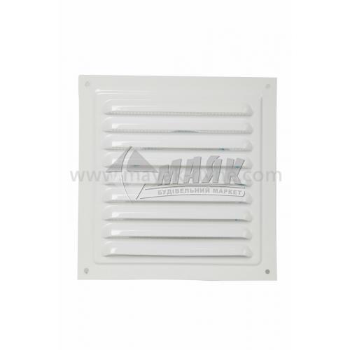 Решітка вентиляційна металева квадратна VENTS МВМ 150 С 150×150 мм