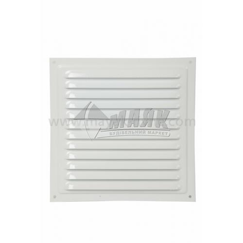 Решітка вентиляційна металева квадратна VENTS МВМ 200 С 200×200 мм