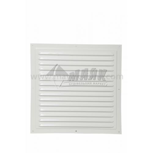 Решітка вентиляційна металева квадратна VENTS МВМ 300 С 300×300 мм