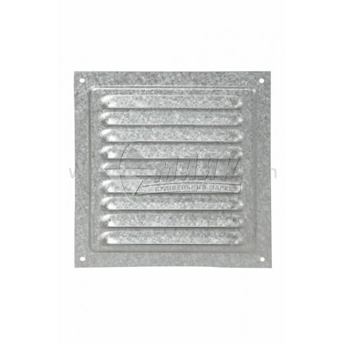 Решітка вентиляційна металева квадратна VENTS МВМ 150с Ц 150×150 мм