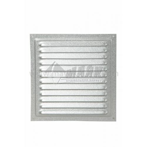 Решітка вентиляційна металева квадратна VENTS МВМ 200с Ц 200×200 мм
