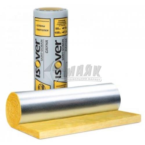 Вата мінеральна скловолоконна ISOVER Сауна 50 мм 15 кв.м