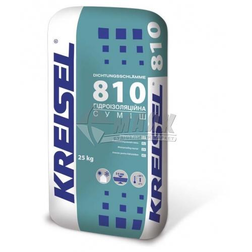 Суміш гідроізоляційна полімер-цементна Kreisel 810 однокомпонентна 25 кг