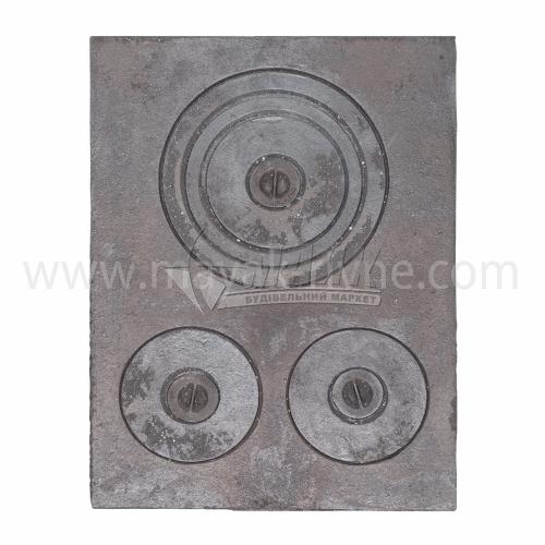 Плита трьохконфорна 640×480 мм 16,6 кг