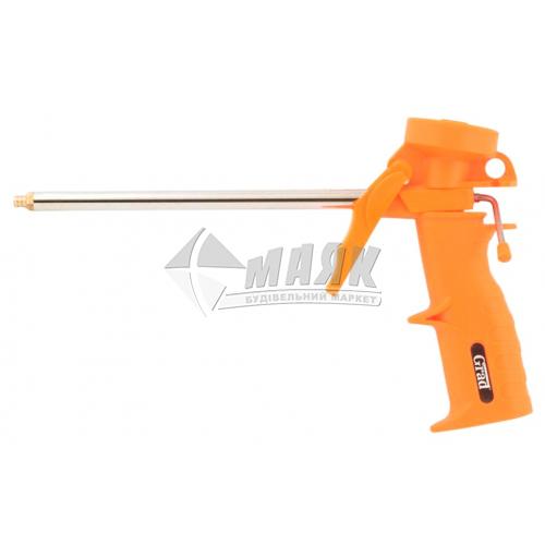 Пістолет для монтажної піни Grad 170 мм пластиковий