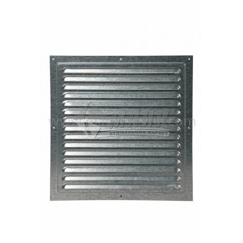 Решітка вентиляційна металева квадратна VENTS МВМ 300с Ц 300×300 мм