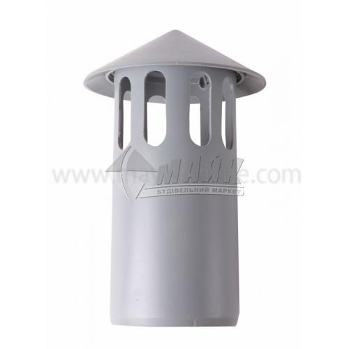 Грибок для внутрішньої каналізації Інсталпласт 110 мм 20 см сірий