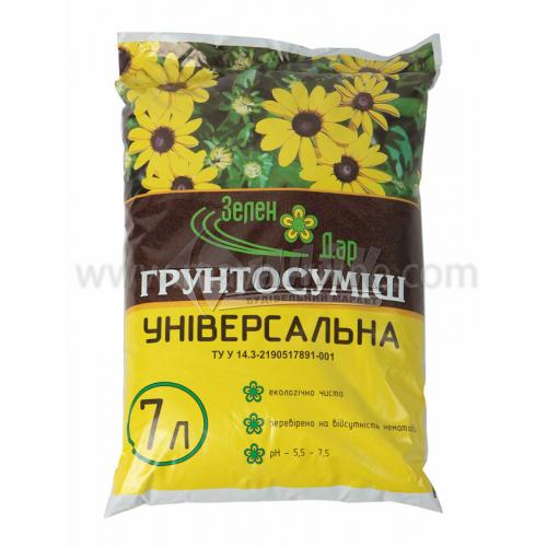 Субстрат універсальний ЗеленДар 7 л