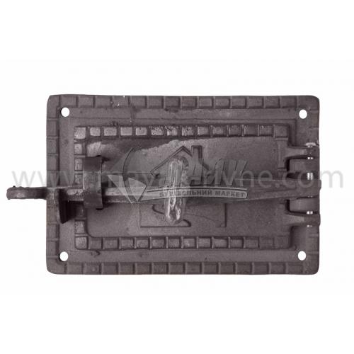 Дверцята піддувні ДП-1 250×160 мм 4,0 кг