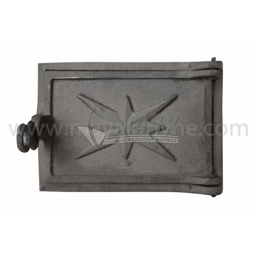 Дверцята піддувні Булат ДП-2 250×160 мм 3,5 кг