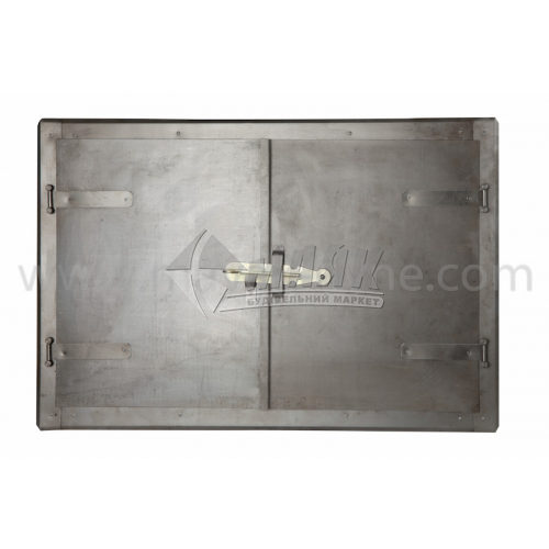 Дверцята для печі металеві 760×480 мм 6,94 кг