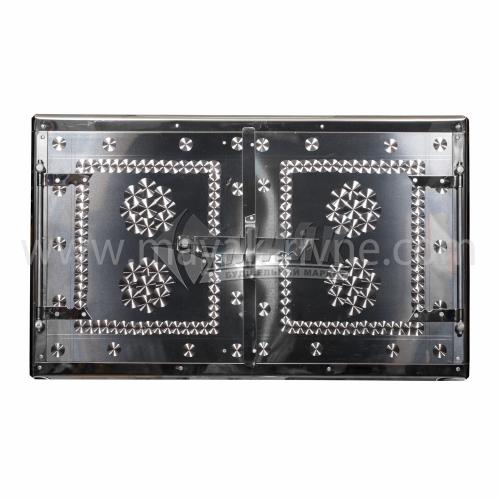 Дверцята для печі нержавіюча сталь 700×400 мм 5,0 кг