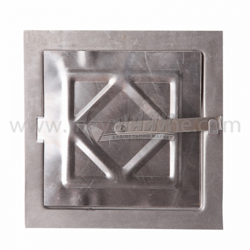 Дверцята прочисні металеві 150×150×0,7 мм 0,21 кг