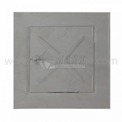 Дверцята прочисні металеві 150×150×1,5 мм 0,24 кг сірі
