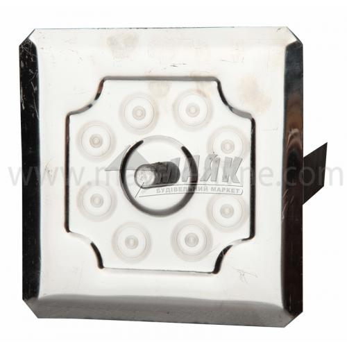 Дверцята прочисні нержавіюча сталь роз'ємні120×120 мм 0,424 кг