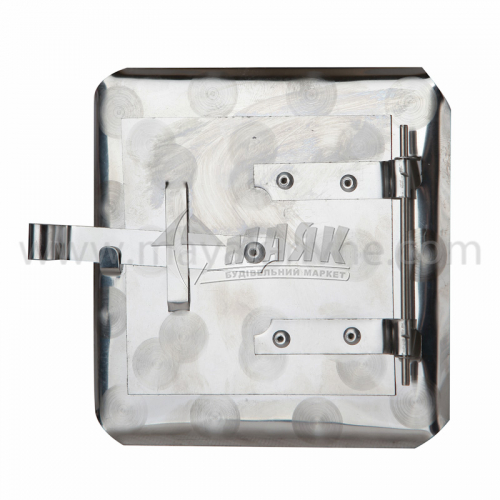 Дверцята прочисні нержавіюча сталь 140×140 мм 0,12 кг