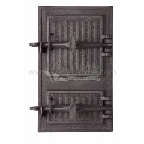 Дверцята спарені ДС-3 240×390 мм 7,5 кг