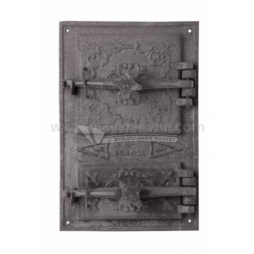 Дверцята спарені Булат ДС-5 280×420 мм 11,0 кг