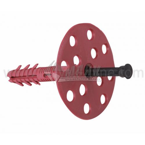 Дюбель для теплоізоляції Wave пластиковий цвях 10×120 мм 100 шт