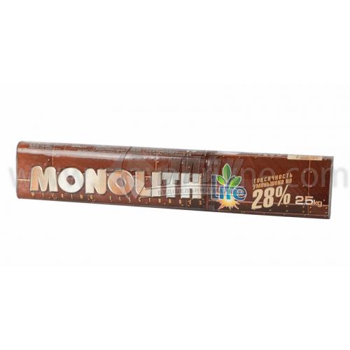Електроди зварювальні Monolith РЦ 3 мм 2,5 кг тубус
