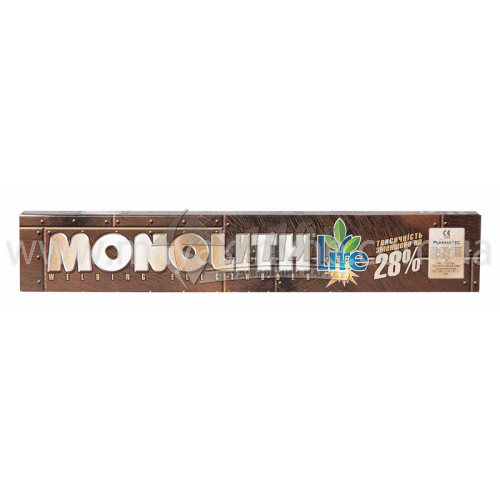 Електроди зварювальні Monolith РЦ 5 мм 5 кг