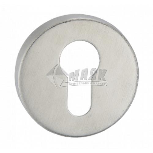 Накладка на циліндр кругла MVM E11 SS нержавіюча сталь