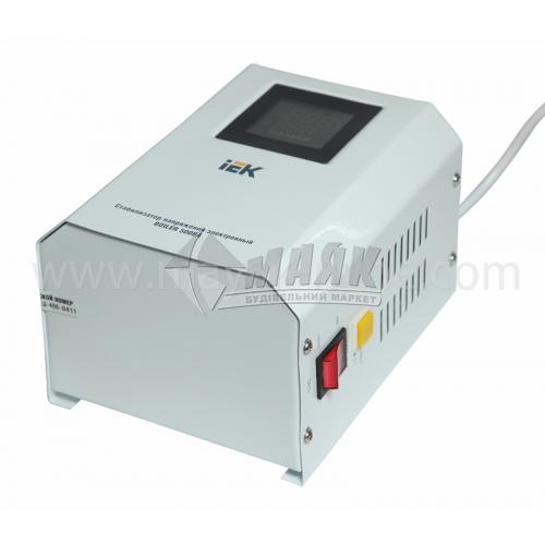 Стабілізатор напруги електронний IEK Boiler настінний 0,5кВА