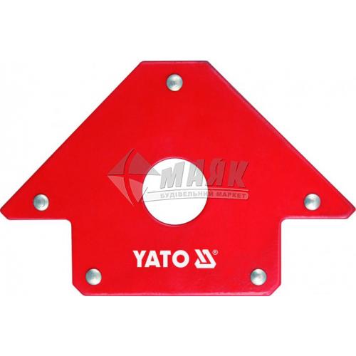 Струбцина магнітна для зварювання YATO 22,5 кг кутова 45°-90°-135°