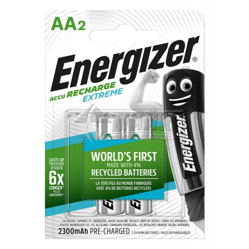 Акумулятор ENERGIZER Pre-Ch Extreme AA 2300mAh 2 шт
