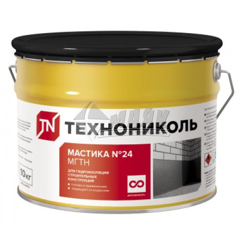 Мастика гідроізоляційна бітумна ТЕХНОНІКОЛЬ №24 МГТН 20 кг